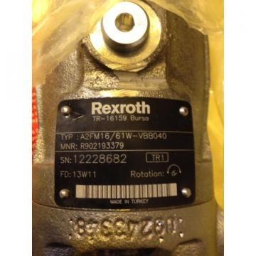 R902193379 A2FM16/61W-VBB040 REXROTH AXIAL-PISTON MOTOR