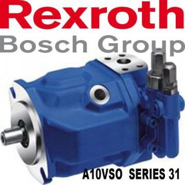 AA10VSO100DFR/31R-PPA12KB5 R902416469 Axial piston variable pump Rexroth A10VSO series 31